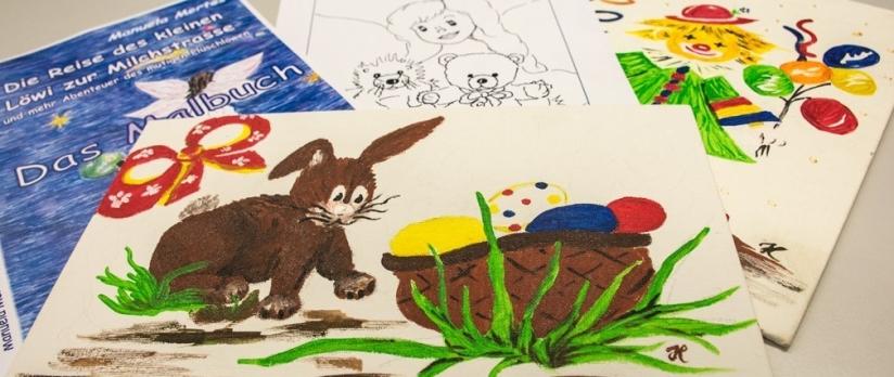 KaHuZ – Wir malen mit Euch auf dem Kinderflohmarkt inWittlich
